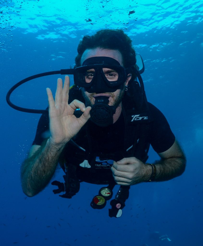 Greg Rodgers Escaping Corporate America to go diving