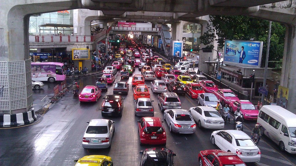The Rat Race in Bangkok, Thailand