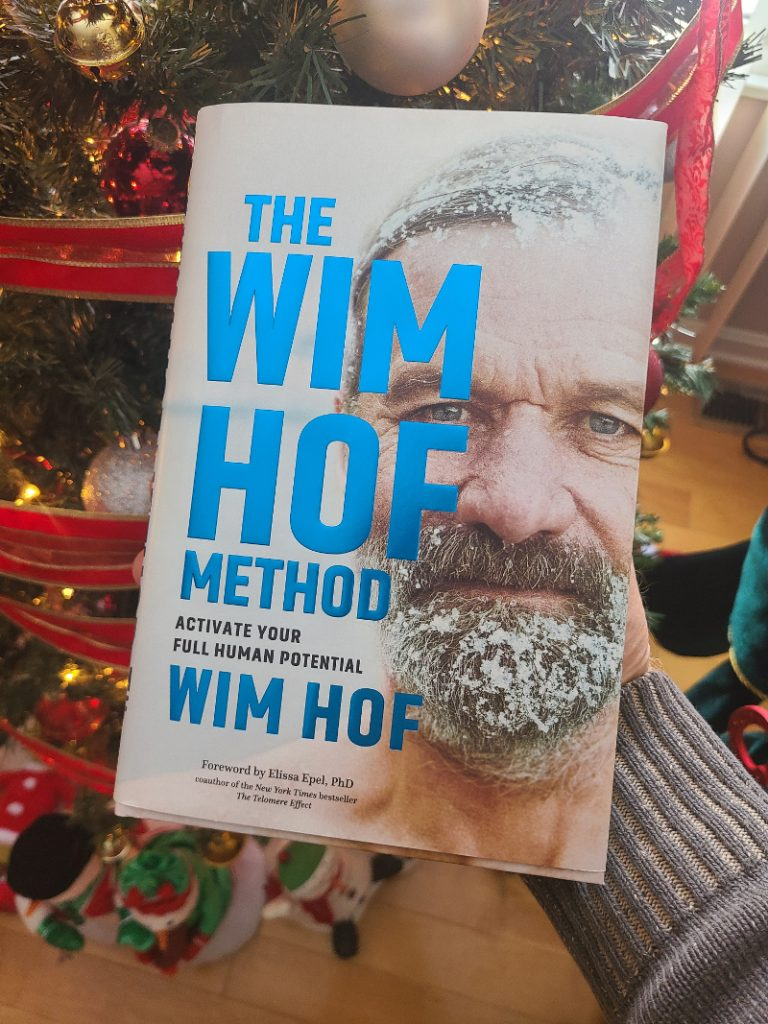 Win Hof book about the benefits of taking cold showers